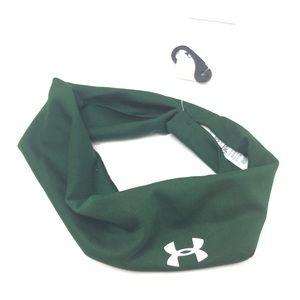 Unisex Under Armour Green Headband Wrap Game Day